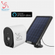 Solar Outdoor Security Camera AWT-OSCam2019 – No Monthly Charges