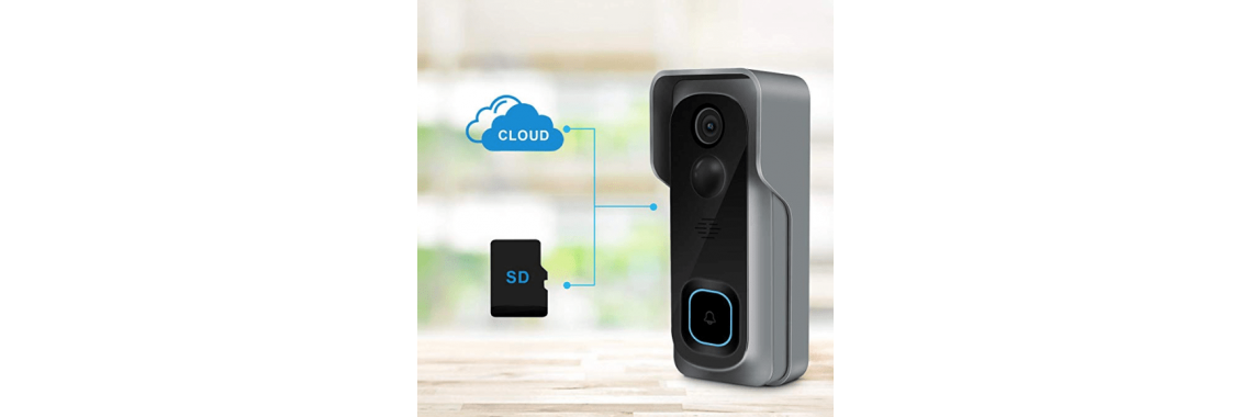 1080p DoorBell with Chime – Completely Wireless AWT-DPRO2019