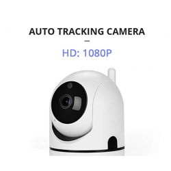 Indoor WiFi 1080p Security Camera, Auto Tracking, Night Vision