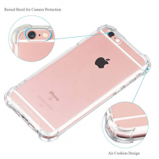 Shock Proof - Clear Hard and soft Case for Iphone - Brand New