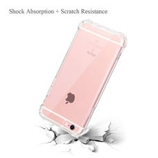 Shock Proof - Clear Hard and soft Case for Iphone 6 - Brand New