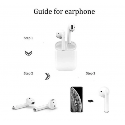 Earbuds i12 tws with Charging Case – Shield – One pair