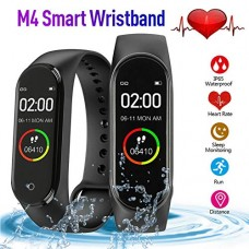 M4 bracelet – Black Smart Heart rate monitor