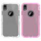 High Quality Clear Defender - Pink and Shiny Clear Casing